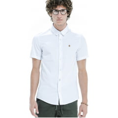 Camisa Basic Short Von Ver Volke Branca