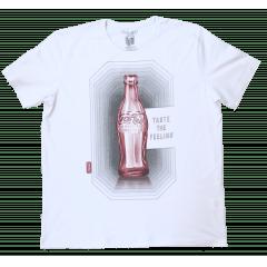 Camiseta Coca-Cola Garrafinha Taste the Feeling