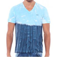 Camiseta Forum Abstrata Bicolor