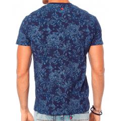 Camiseta  Forum em Malha Flamê Floral