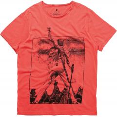 Camiseta Volke Star Vermelho Von Der Volke