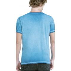 Camiseta Von Der Volke Aquarius Azul Oceano