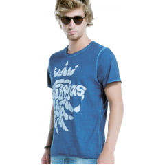 Camiseta Von Der Volke Dupla Face Somos Água Azul Oceano