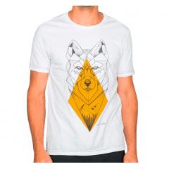 Camiseta Von Der Volke Geometric Wolf