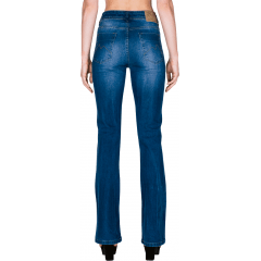 Calça Jeans M. Officer Feminina Boot Cut
